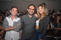 Anderson de Deus, Ivanildo Nunes e Ana Caroline