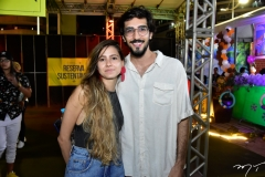 Bruna e Bortolote e Lucas Dantas