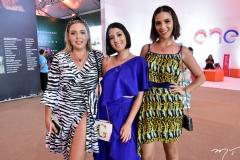 Karen Praxedes, Gaby Colasse e Gabidia Nascimento