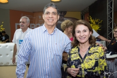 Márcio Lima e Sandra Mendes