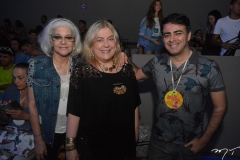 Marcia Leicioni, Heloisa Tolipan e Geimes Silver