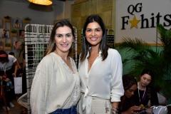 Paula Torres e Aletania Oliveira