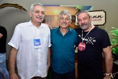 Paulo Baquit e Lelio Mathias e Cláudio Silveira