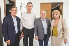Beto Studart, Camilo Santana, Roberto Cláudio e Iracema do Vale