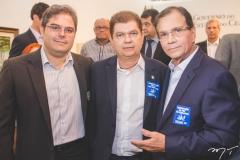 Edson Queiroz Neto, Mauro Benevides Filho e Beto Studart
