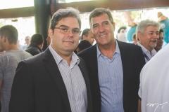 Edson Queiroz Neto e Luiz Gastão Bittencourt
