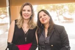 Elizabeth Chagas e Mariana Lobo