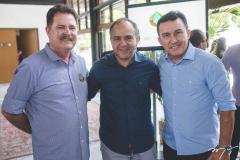 Elmo Aguiar, Robério e Eliseu Monteiro