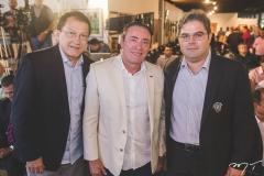 Elpídio Nogueira, Darlan Leite e Edson Queiroz Neto