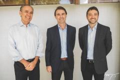 Francisco Teixeira, Alexandre Landim e André Facó