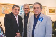José Guimarães, Paulo César Norões e Euvaldo Bringel