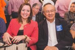 Nicolle Barbosa e José Pimentel