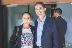 Patrícia Macedo e Alexandre Landim