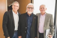 Severino Ramalho Neto, Joaquim Cartaxo e Flávio Saboya