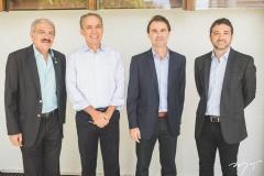 Walter Cavalcante, Francisco Teixeira, Alexandre Landim e André Facó