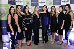 Amanda Cruz, Natália Sampaio, Mara Farias, Flavia Pinheiro, Sellene Câmara, Ione Aguiar, Karol Cordeiro e Rebeca Campos
