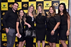 Emanuel Teixeira, Bruna Bezerra, Flavia Pinheiro, Nathalia Bastos, Camila Rodrigues e Larissa Natale