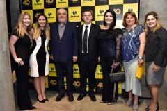 Flavia Pinheiro, Kátia Monte, José Benevides, Adrien Mignauw, Sellene Câmara, Luciana Amorim e Priscila Martins (2)