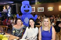 Patrícia Teixeira, Teresa Ferrer, Jaciane Nunes e Urginho