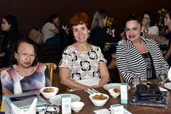 Rocilda Custódio, Marionesco Purcaru e Roberta Cruz
