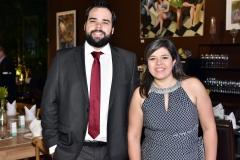 Vinícius Agatão e Flávia Carvalho