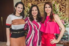 Adriana Bezerra, Martinha Assunção e Lorena Pouchain