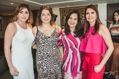 Cristiane Faria, Cláudia Gradvohl, Martinha Assunção e Lorena Pouchain