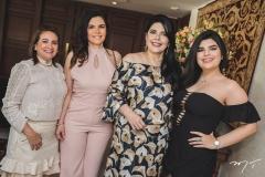 Cristina Albuquerque, Fabiana Lustosa, Sellene e Marcelle Câmara