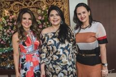Eveline Fujita, Sellene Câmara e Adriana Bezerra