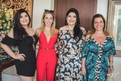 Marcelle Câmara, Ingrid Lucena, Sellene Câmara e Silvinha Carneiro
