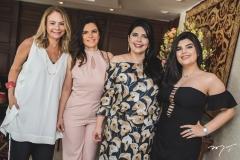Milena Lima, Fabiana Lustosa, Sellene e Marcelle Câmara