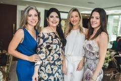 Rejane Macedo, Sellene Câmara, Carmen Rangel e Carla Brasil