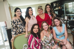 Sellene Câmara, Fabiana Lustosa, Martinha Assunção, Vera Costa, Marjorie Marshall, Eveline Fujita e Vivian Marshall