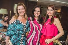 Silvinha Carneiro, Martinha Assunção e Lorena Pouchain
