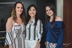 Sorana Valença, Dani Linheiro e Roberta de Castro
