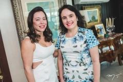 Ticiana Fuzezi e Danielle Fonteles