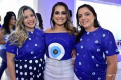 Carla Mota, Camila Magalhaes e Liliane Lima