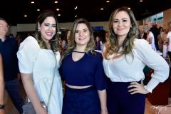Carolina Soares, Cintia Toscano e Mara Farias