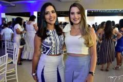 Crisley Bezerra e Bruna Moura
