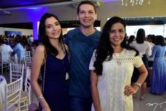 Cristiana Lopes, Glauber Bezerra e Hissa Cavalcante