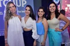 Lara Maralhães, Marine Batista, Camila Nobre e Carol Feitosa