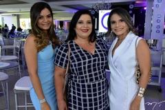 Mônica Maia, Cristiane Farias e Aurilene Sousa