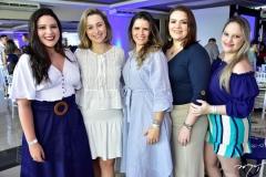 Rebecca Eufrasio, Daniella Fiorini, Renata Nogueira, Roberta Galvão e Camila Moura