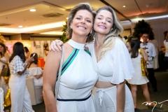 Ana Cristina Wolf e Eveline Mesquita