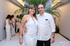 Ana Lúcia Madeira e Robson Pascoal
