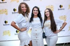 Andrea Gomes, Camila Magalhães e Izenilda Oliveira