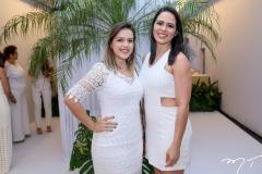 Camila Nobre e Enilene Prata