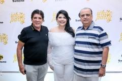 Dito Machado, Sellene e Max Câmara