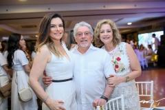 Fabiana Lustosa ,Ernesto Nobre e Rejane Magalhães