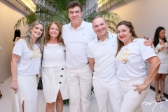 Flávia Pinheiro, Zeni Araújo, Edson Lima, Sérgio Ribeiro e Erandi Farias